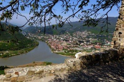 Blick auf Tbilissi