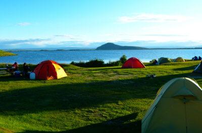 Island Zeltreise