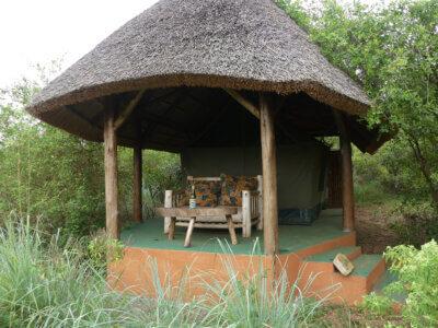 Lake Mburo, Leopard Rest Camp